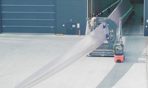 Siemens Gamesa presenta su primera pala reciclable y está lista para su uso comercial offshore