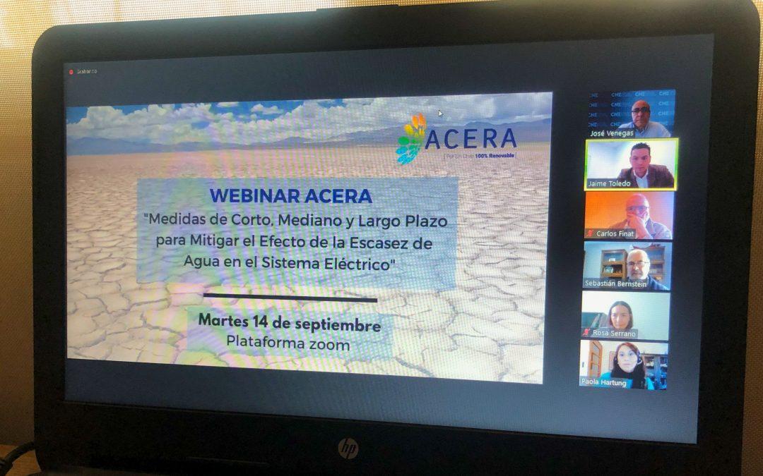 """""""Ya no podemos hablar de sequía"""": las propuestas de ACERA para superar futuras crisis energéticas"""
