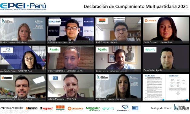 Empresas del sector eléctrico levantaron la bandera contra la corrupción en Perú