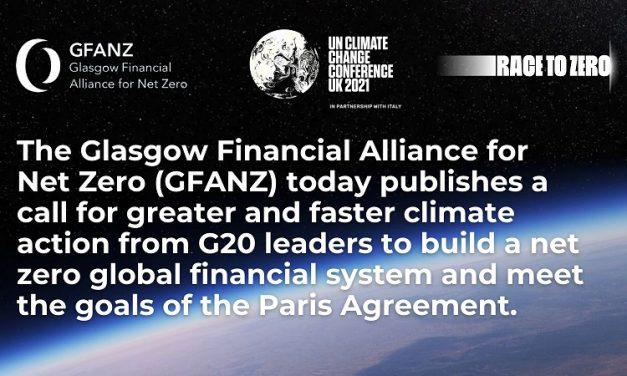 «The Call to Action» plantea medidas específicas al G20 para reducir emisiones a días de comenzar la COP26