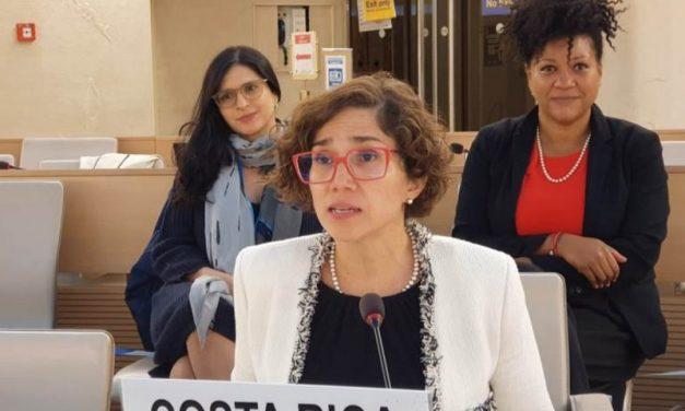 Histórico: por iniciativa de Costa Rica se reconoce el derecho humano a un ambiente limpio, sano y sostenible