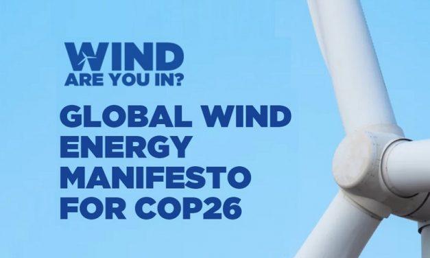 GWEC lanzó el Manifesto Global de Energía Eólica para la COP26