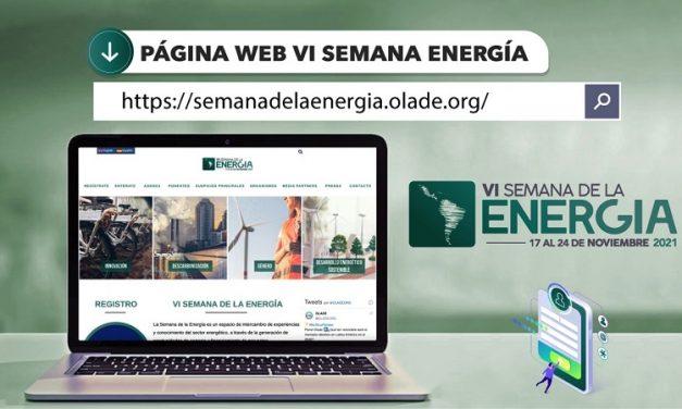 Semana de la energía: OLADE abre la inscripción para su evento y reunión ministerial anual